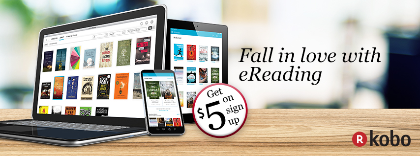Kobo E-Books promo