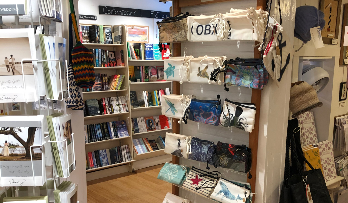 Interior Buxton Village Books